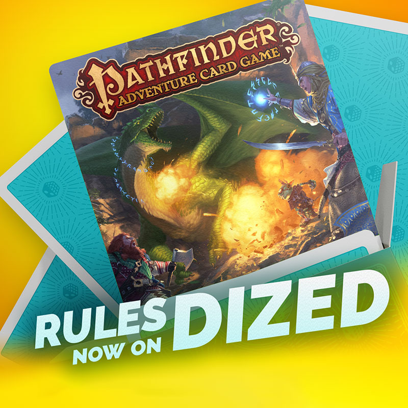 Pathfinder Adventure Card Game Rules Now on Dized